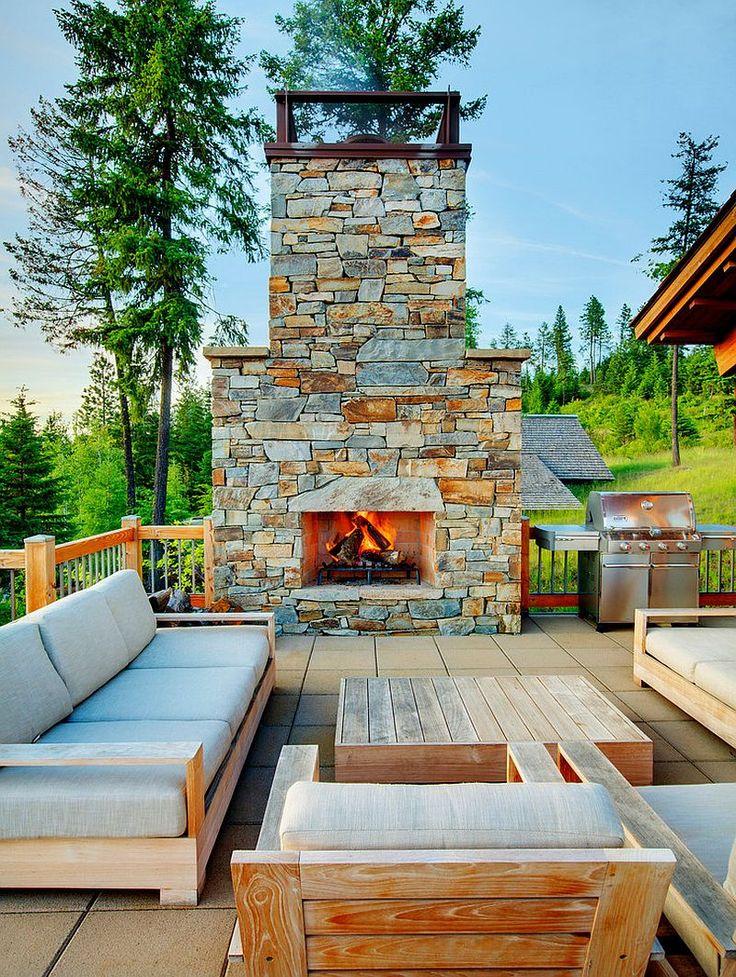 best 25+ cabin decks ideas on pinterest | rustic cabin decor ... - Open Patio Ideas