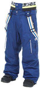 cool Picture - Picture Panel Pant Pantalon Ski Homme - Dark Blue White - S - DARK BLUE WHITE