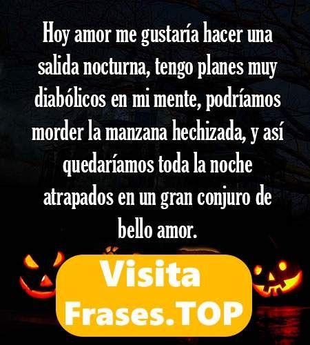 ✅😱 https://frases.top/frases-halloween/ 😱✅ #Frases de Halloween ¡¡Mi Pin de #citas celebres para compartir!! Ven a ver éstas #palabras, #pensamientos, #textos y #reflexiones