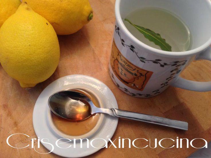 tisana alloro e limone