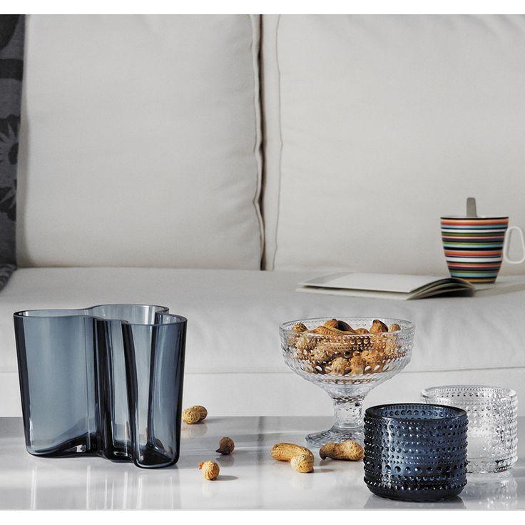 Alvar Aalto Vase Rain - Alvar Aalto - Iittala - RoyalDesign.com #designnews #royaldesign #design #iittala #finnishdesign #finskdesign #decor #interiordesign