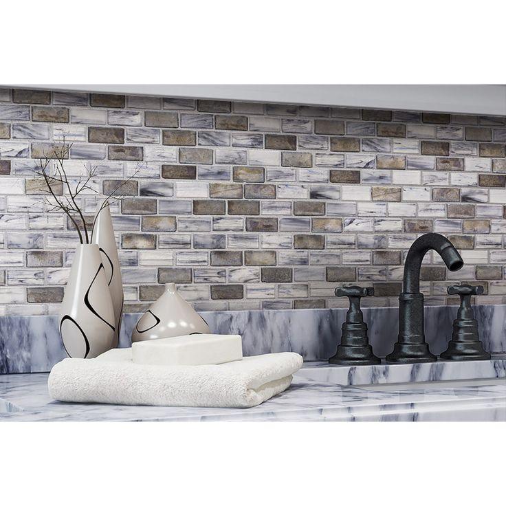 X Subway Tile Kitchen Backsplash