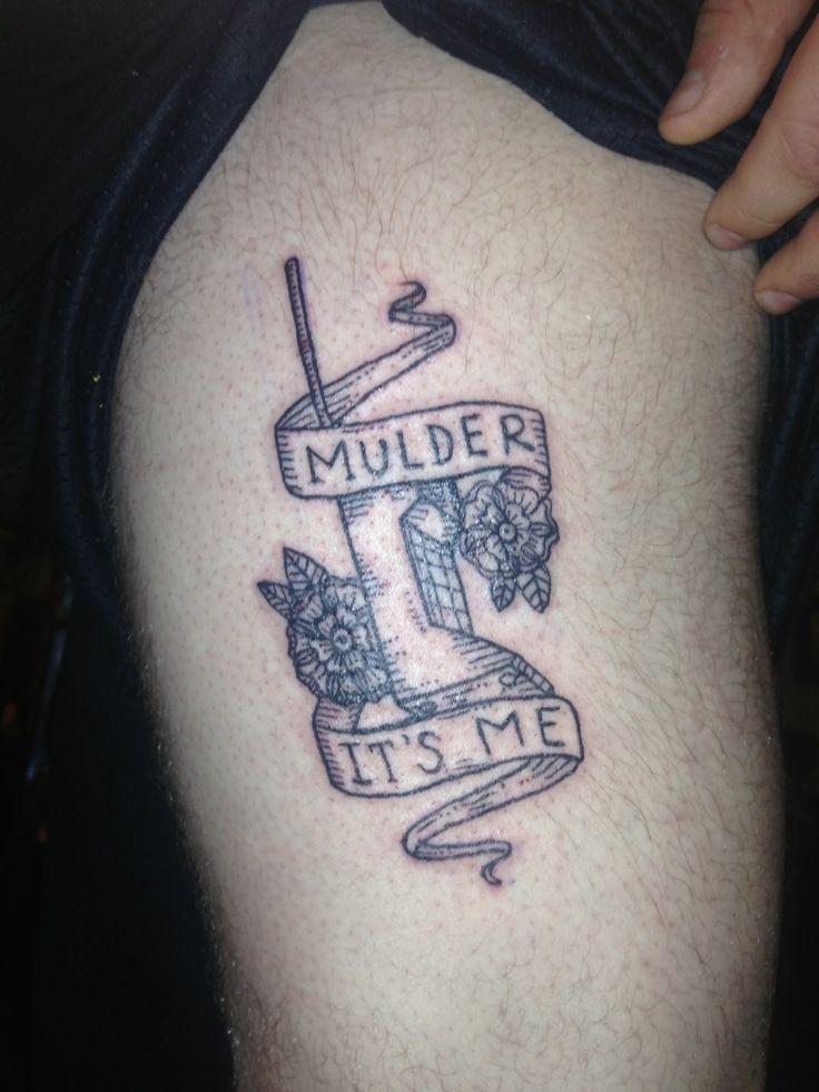 Small X Files Tattoo: Funny X Files Tattoo