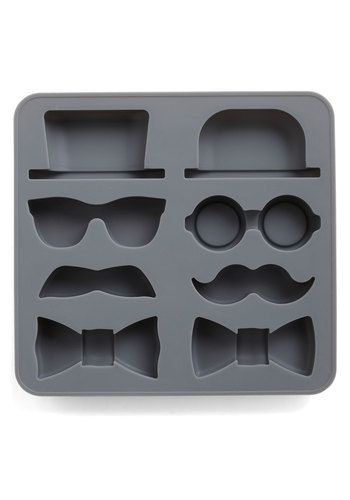 Sir Up Some Fun Ice Cube Tray, #ModCloth  I hate the mustache trend, but this is cute ...sans the mustaches