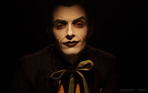 Joker Cosplay by Anthony Misiano / Harley's Joker (gif) | The Batman Chronicles on YouTube