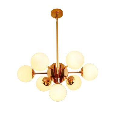 ZUOGE DJBT04 Creative Art 7 Chandelier Designer Recommend Living Room Chandelier 220V-$312.99 Online Shopping| GearBest.com