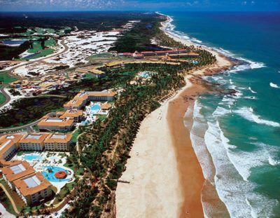 foto aerea costa do sauipe