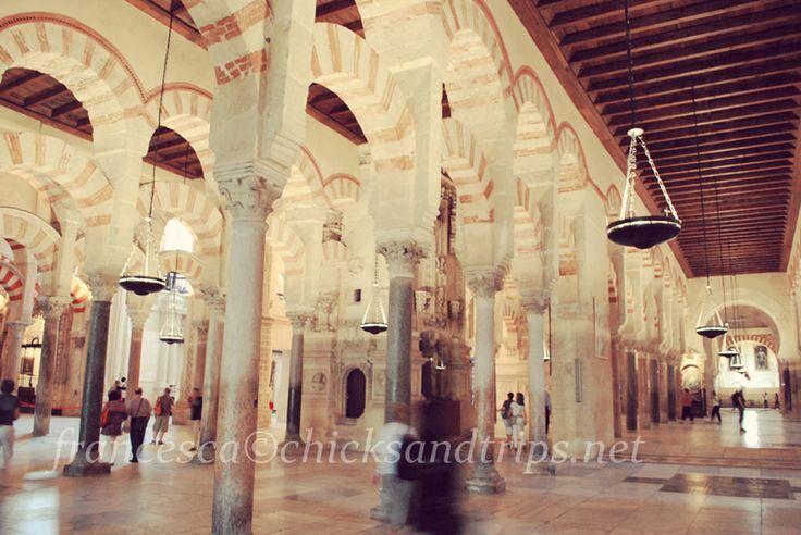 Interno della Mezquita di Cordova