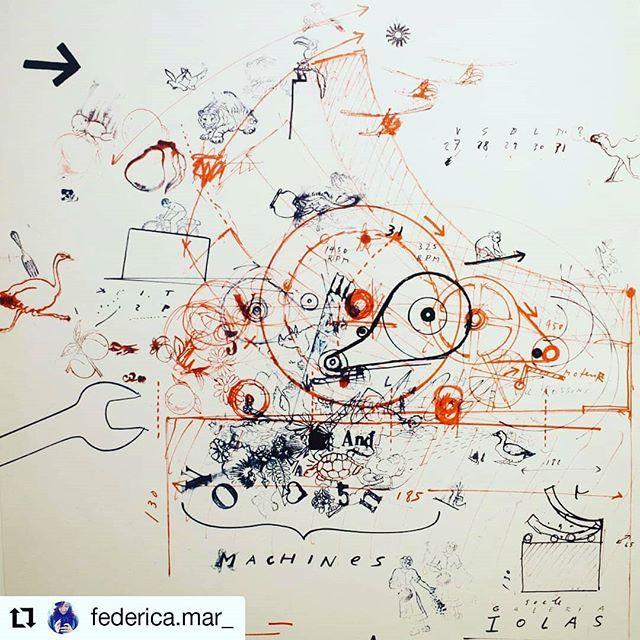 """""""Il futuro parte sempre da un foglio bianco... immaginato disegnato progettato e costruito"""" Nella mente del progettista. Non deve sempre esserci un chiaro senso logico. #jeantinguely  #repost @federica.mar_  #enjoychiostro"""