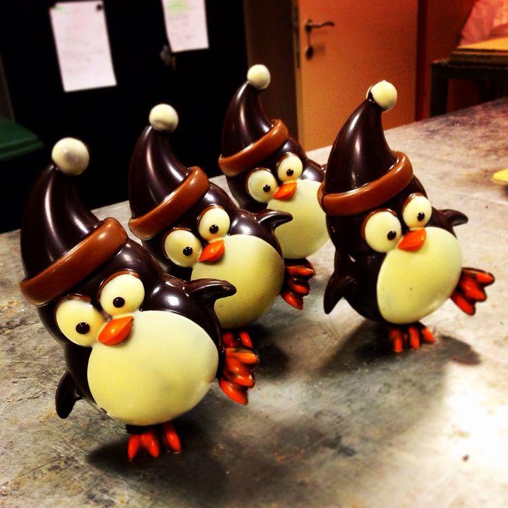NIEUW in het #winterassortiment deel 1 - #chocolade pinguïns
