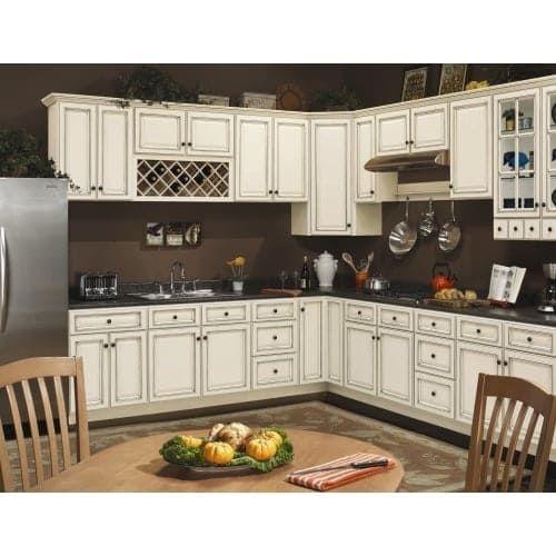 """Sunnywood Kitchen Cabinets: Sunny Wood SLW2736-A Sanibel 27"""" X 36"""" Double Door Wall"""
