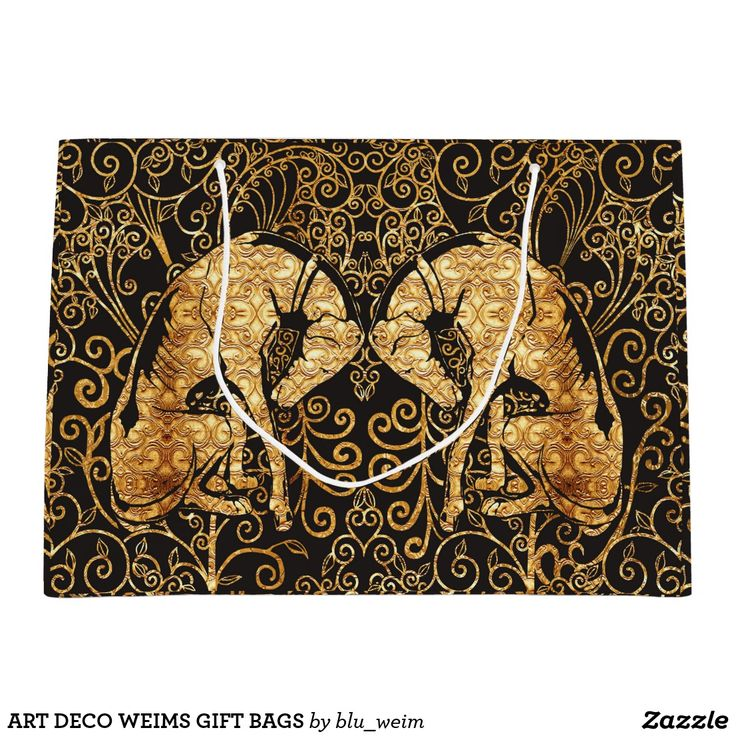ART DECO WEIMS GIFT BAGS
