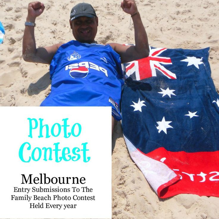 Cover Pin for the Yearly Melbourne Family beach photo submissions contest board