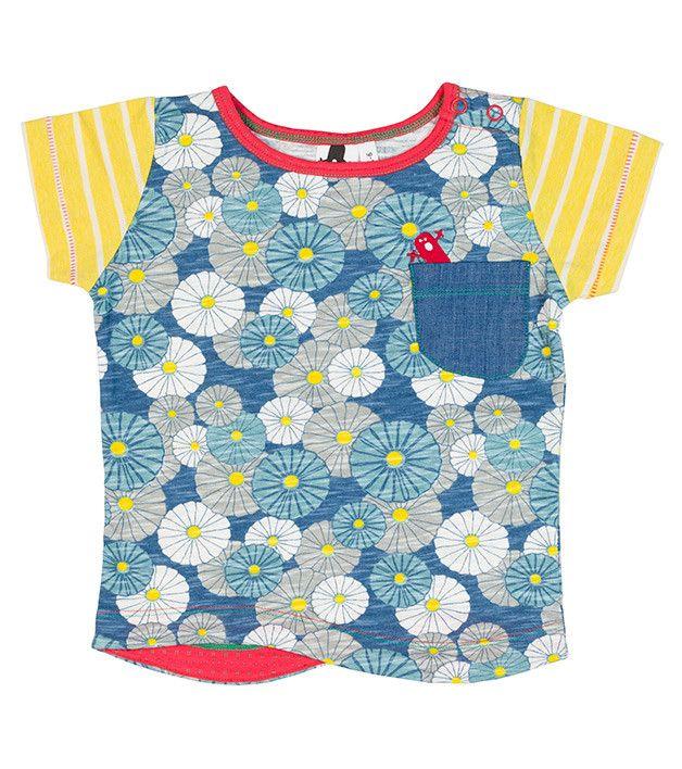 Hana SS Pocket T Shirt, 12-24