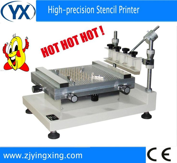 [Visit to Buy] Best Precision Screen Stencil Printer YX3040 Pick and Place Robot Machine,Solder Paste Printer SMT Mounter #Advertisement