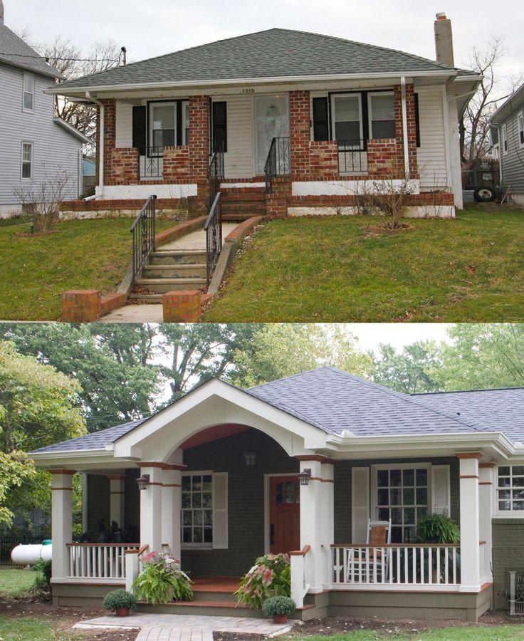 House Front Home Exterior Makeover House Exterior Exterior