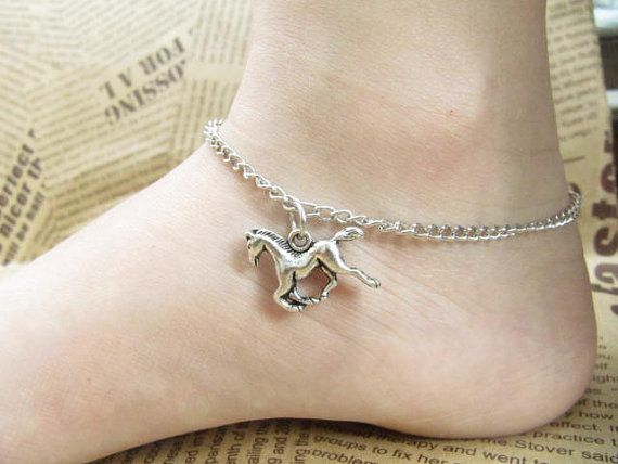 SALE lucky flying horse jewelry anklet by wholesalejewelrysale