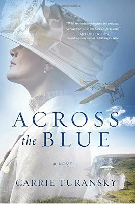 THE BOOK CLUB NETWORK BLOG : ACROSS THE BLUE by CARRIE TURANSKY REVIEWED