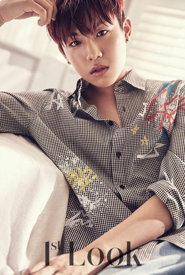 Park Woojin (Wanna One) - 1st Look Magazine vol. 137
