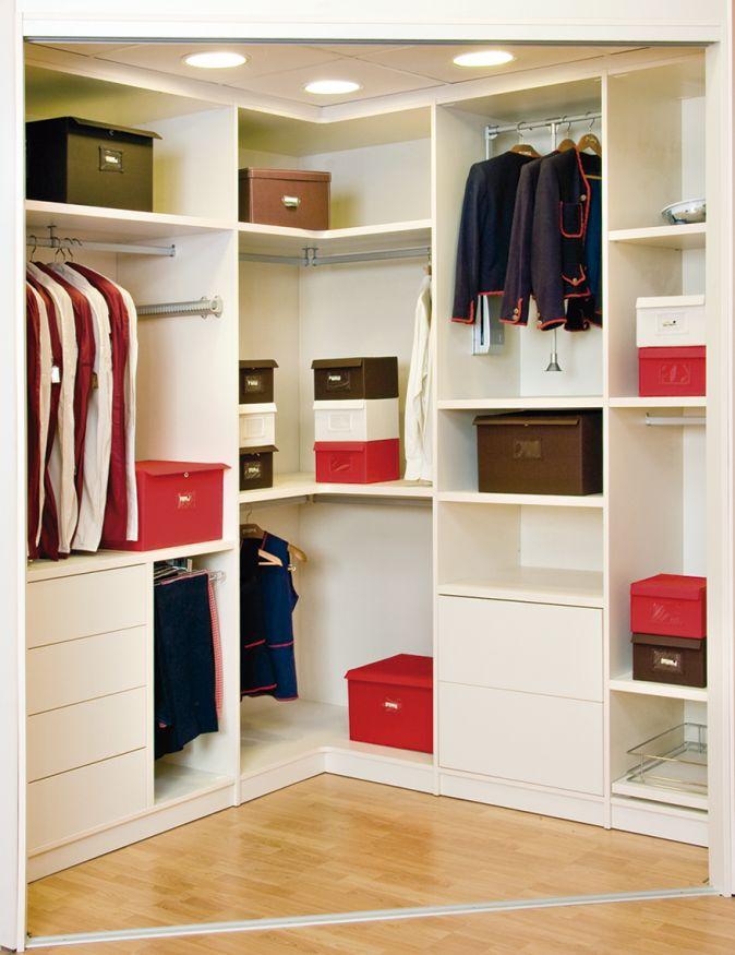 265 best blog ideas de decoraci n y muebles a medida for Armarios roperos para habitaciones pequenas