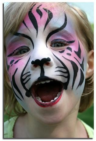 fantasy face makeup painting | Face painting fantasy makeup lion - maquillaje ... | Face Painting Pi ...