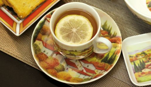 Tea Time! Tuscany TreeHouse's AUTUMN Decoration.