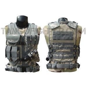 tactical+molle+vest+rigs | CONDOR-CV-Crossdraw-Assault-Tactical-Vest-Chest-Rig-w-MOLLE-Army-ACU ...