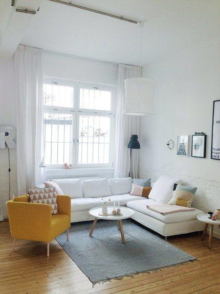 Die schönsten Bilder & Momente aus dem SoLebIch Jahr 2016 | SoLebIch.de, Foto: bymariechen #scandi #wohnzimmer #livingroom