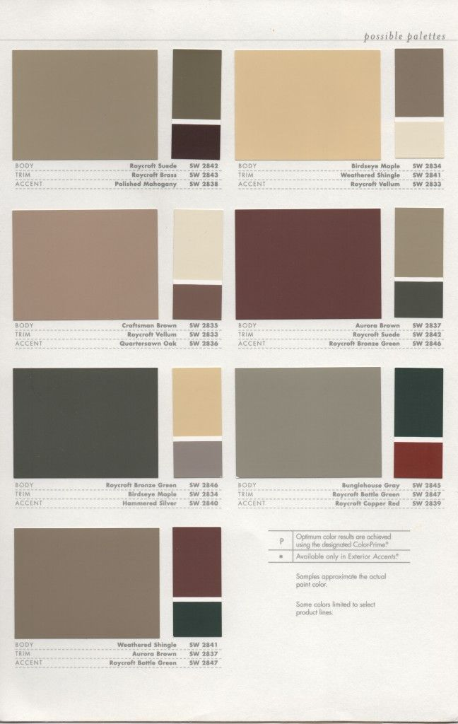 39 best 1920s house colors images on pinterest color for Good color combinations for house exterior