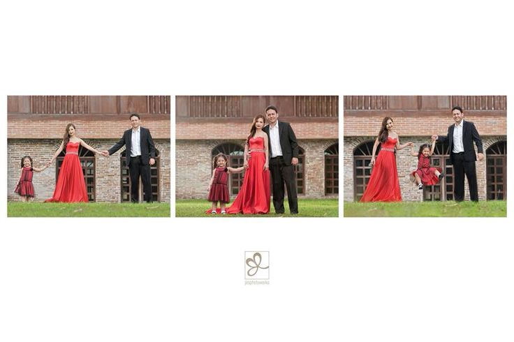 Spanish themed family portrait Old Church