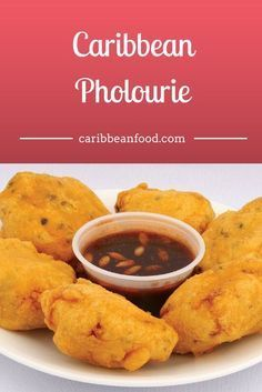 Caribbean Pholourie is an all-time favorite snacks among trinidad recipes in Guyana among other Caribbean countries. Popularly served in Trinidad and Tobago as a delicious appetizer — Caribbean Pholourie's a fritter made from split-pea flour that's accompanied by a bowl of chutney.