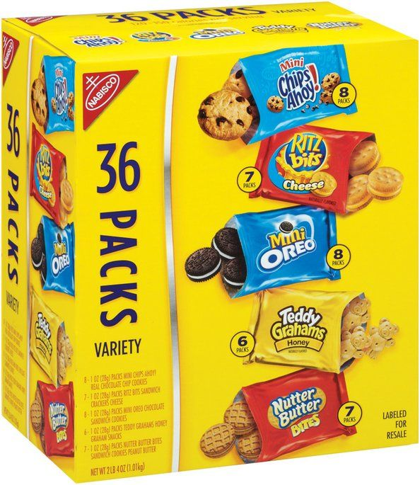 I'm learning all about Nabisco Cookies