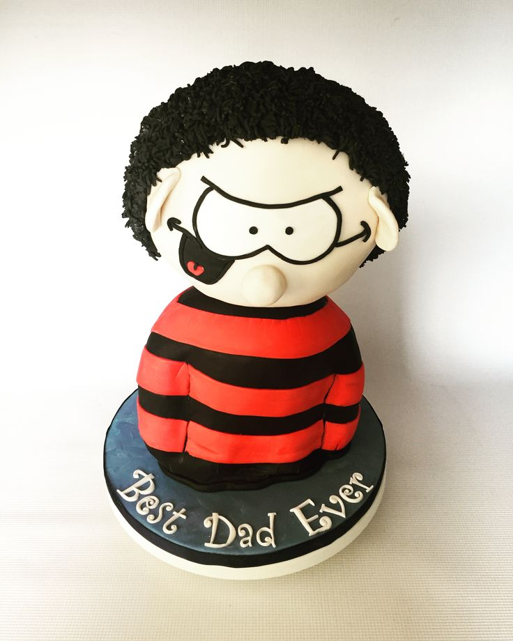 Dennis the Menace cake by Olivia's Cake boutique