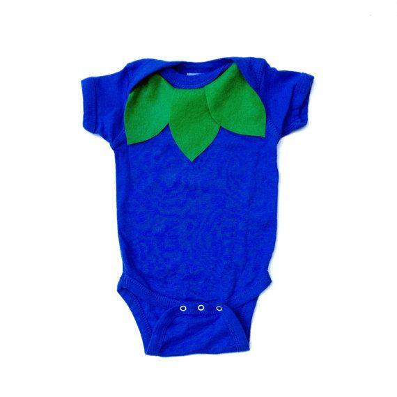 Blueberry Baby Costume Food Onesie Kids by TheWishingElephant