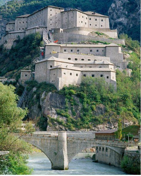 Forte di Bard, Aosta Valley