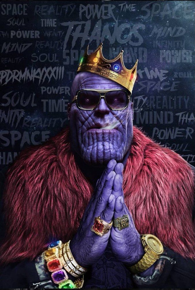 Iphone Wallpapers Com ТАНОС ВОЙНА БЕСКОНЕЧНОСТИ 1 Thanos Art Marvel