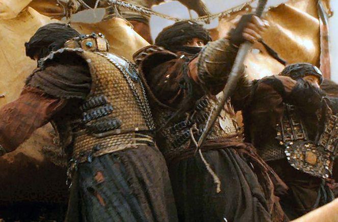 Haradiak (eredeti: Haradrim trio, jelenet A Gyűrűk Ura: A Király visszatér c. filmből)
