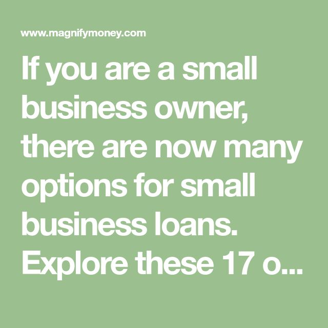 If you are a small business owner, there are now many options for small business loans. Explore these 17 options to find low cost loans quickly.  #business #smallbusiness #loans #loan #funding #finance #financial #financing #growth #planning #investing #investment