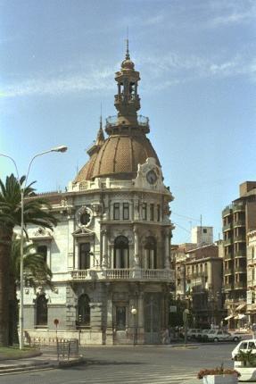 Ayuntamiento Viejo, Cartagena, Spain