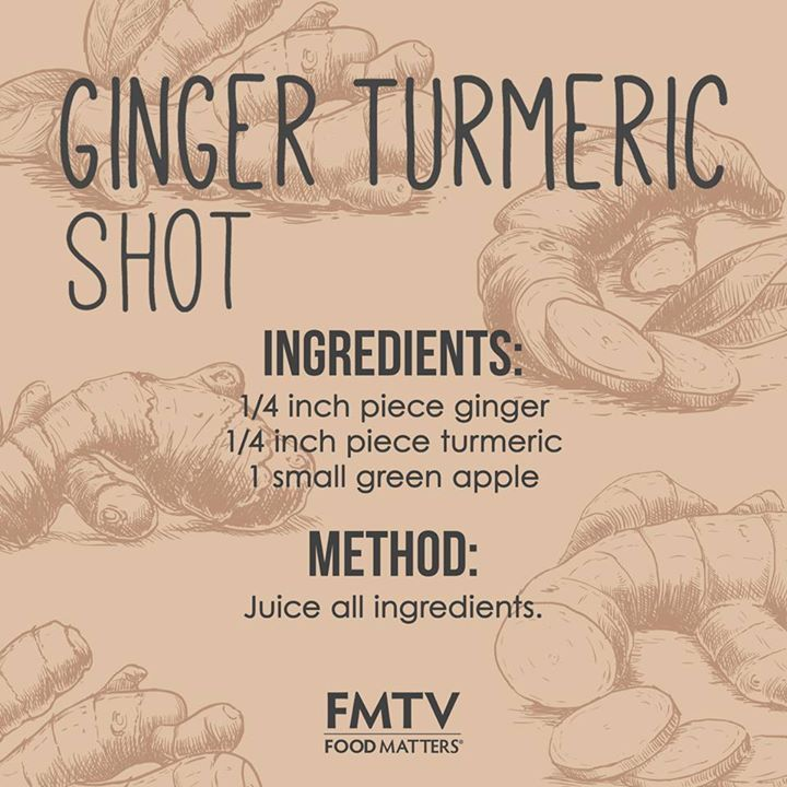 You asked for it, so here it is!   This juice shot combines two incredibly powerful ingredients that your body adores! The combination of turmeric and ginger offers a potent mix of compounds that are anti-inflammatory and rich in antioxidants, offering huge immunity benefits!   More Food Matters Recipes on FMTV! https://www.fmtv.com/watch/ginger-turmeric-shot