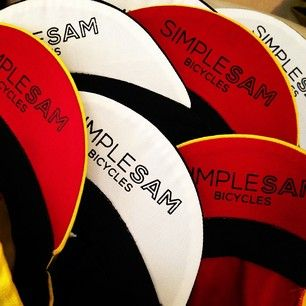Simple Sam cycling caps