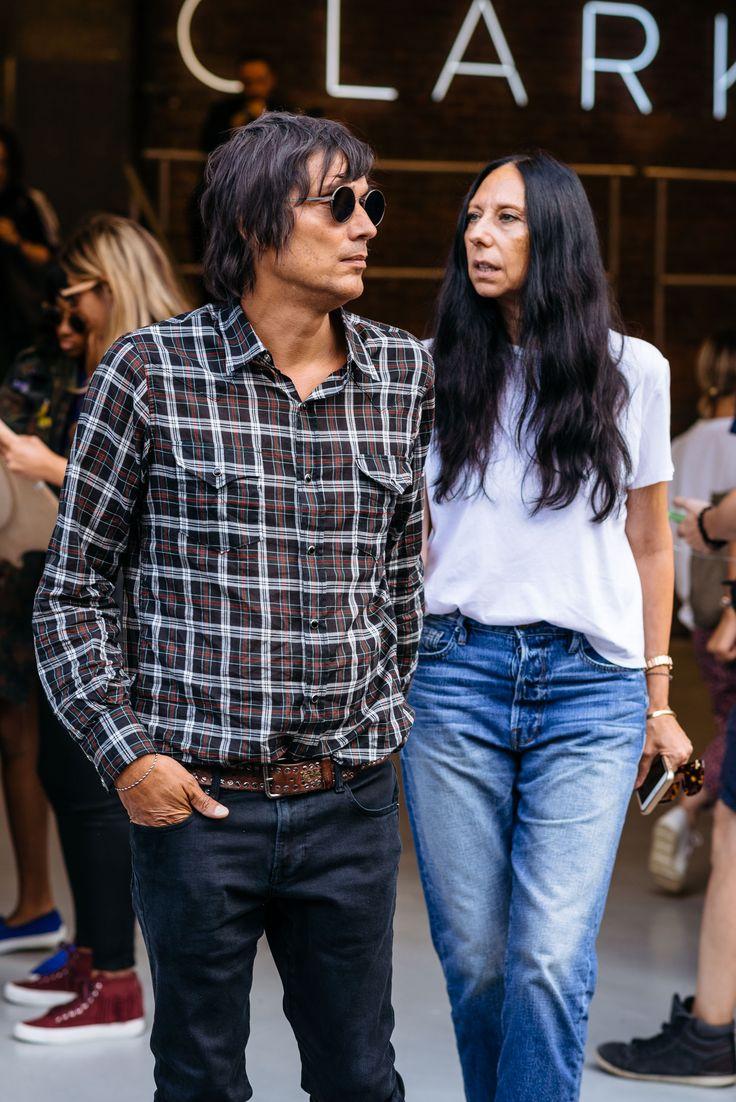 Photographers inez & vinoodh at New York Fashion Week - Photo by Maria Gibbs
