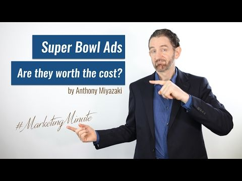 Marketing Minute PLUS!  Are Super Bowl Commercials Worth the Cost? (Marketing / Advertising) - http://LIFEWAYSVILLAGE.COM/personal-development/marketing-minute-plus-are-super-bowl-commercials-worth-the-cost-marketing-advertising/