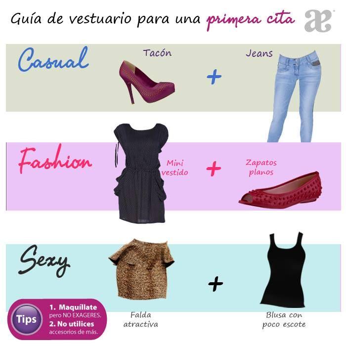 Guía para elegir el mejor #outfit para la primera #cita.