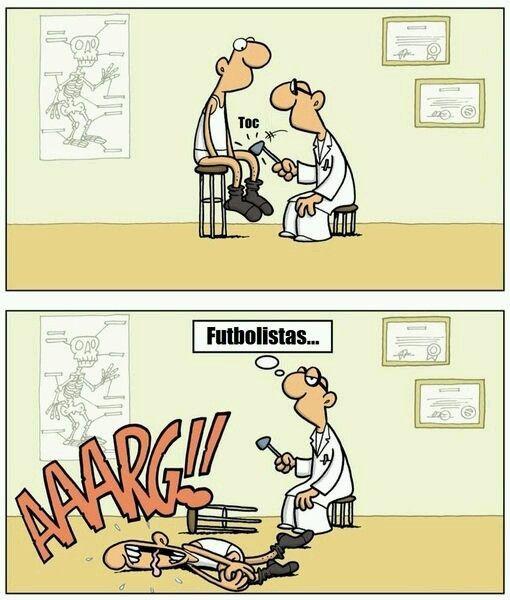 Futbolistas http://www.grafichistes.com/graficos/futbolistas/ - #Chistes #Humor http://www.grafichistes.com