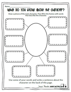 Peterson's Pad: Smart Readers Under Construction  Character Map  Also has a great Did You Know? Worksheet for Non-Fiction Text.