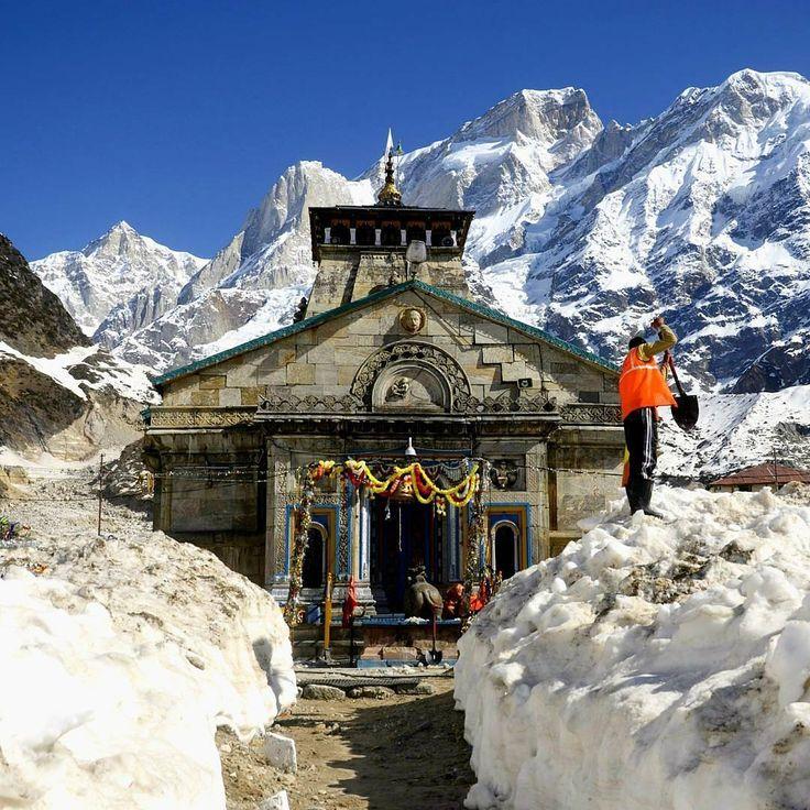 Kedarnath Temple, #uttarakhand . 🇮🇳