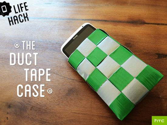 DIY duct tape cell phone case #DIY #HTC #Phone #Mobile