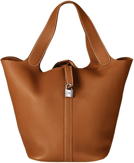 Hermes Gold Picotin Lock TGM Bag