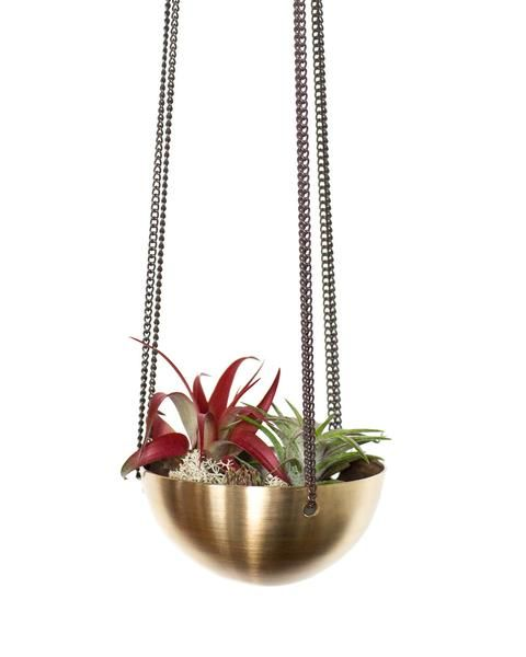 Small Brass Hanging Bowl